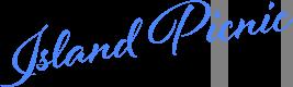 青い海を堪能するアイランドピクニック