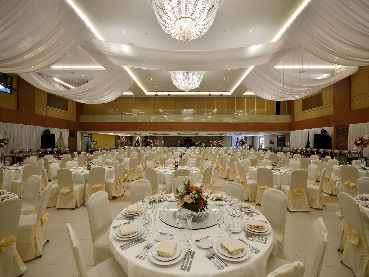 総部屋数は370部屋!豪華な宴会場設備も充実♪