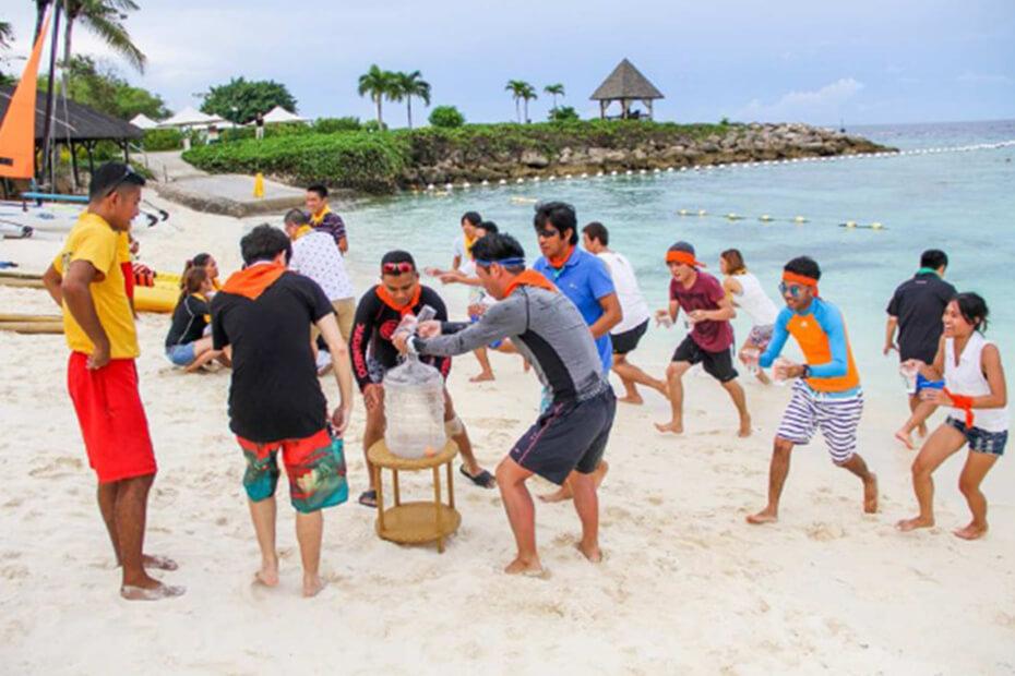 ビーチの特性を生かしたチームビルディング!