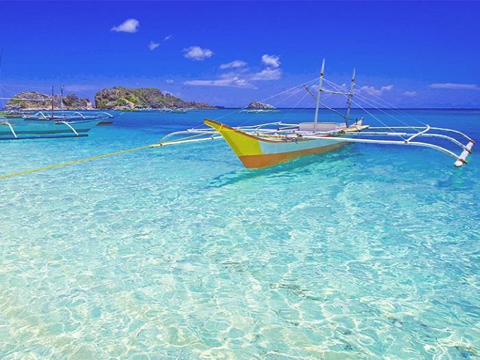 【中部発】パラダイスリゾートアイランドでの贅沢な4日間ツアー!パマリカン島・アマンプロ「ビーチカシータ他」に滞在♪《リゾート専用機/送迎・朝食付》