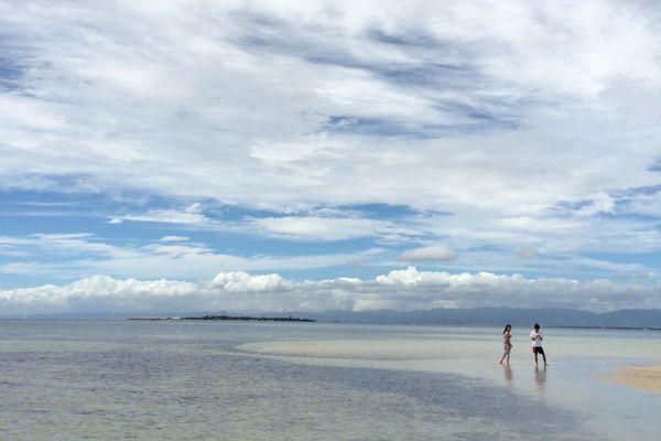 カオハガン島の海