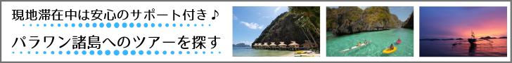 現地滞在中はサポート付き♪パラワン諸島へのツアーを探す