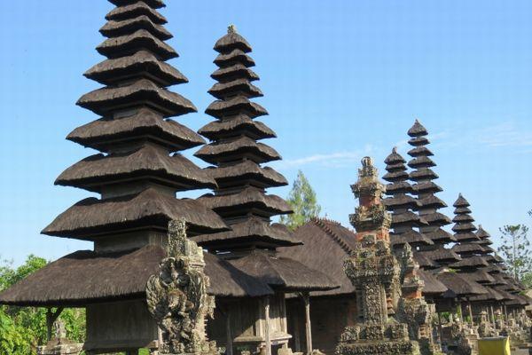 バリ島のタマン・アユン寺院
