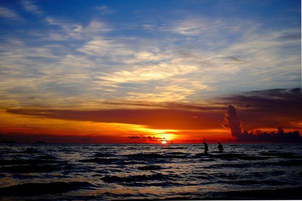 ボラカイ島のサンセット