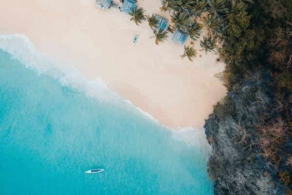 エルニドの海