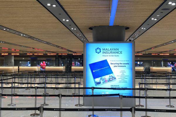 セブマクタン国際空港第2ターミナルの入国審査エリア