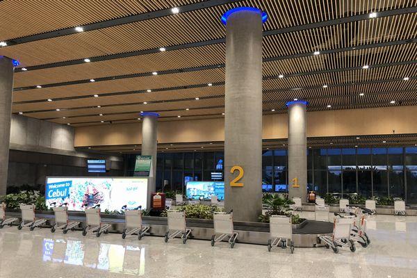 セブマクタン国際空港第2ターミナルの預け荷物受け取り所