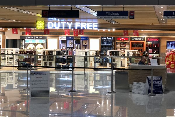 セブマクタン国際空港第2ターミナルの税関