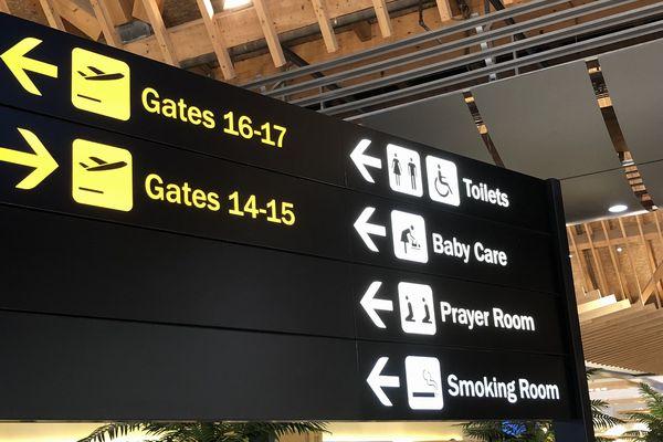 セブマクタン国際空港第2ターミナルの出発ゲート
