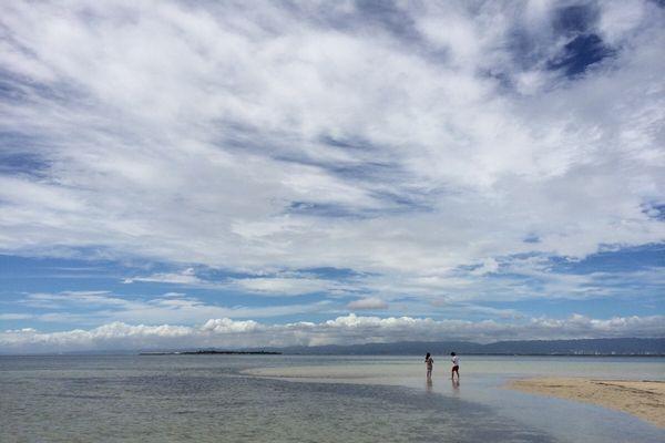フィリピン、カオハガン島の海