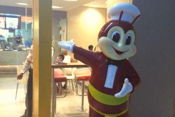 ジョリビーのハチのキャラクター