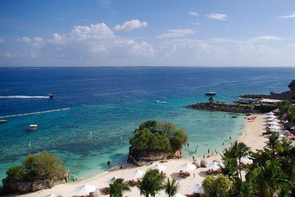 フィリピン マクタン島のプライベートビーチ