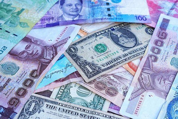 いろんな国の紙幣