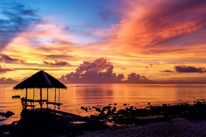 美しいサンセットを目に焼き付ける~セブ島のサンセット~