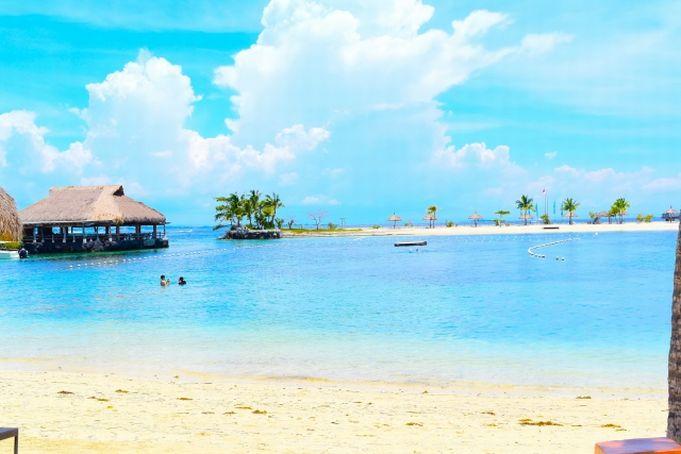 セブ島のプライベートビーチ